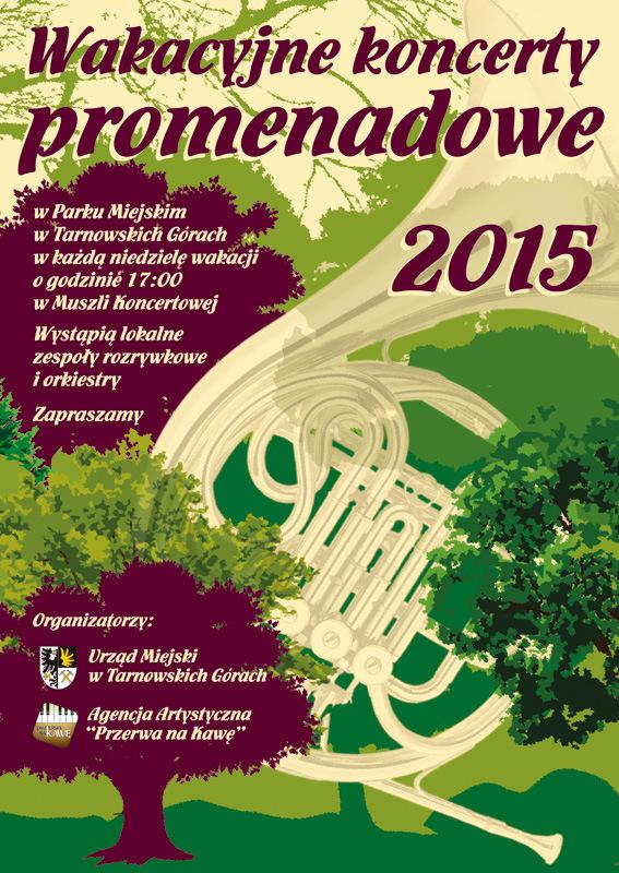 wakacyjne koncerty promenadowe 2015